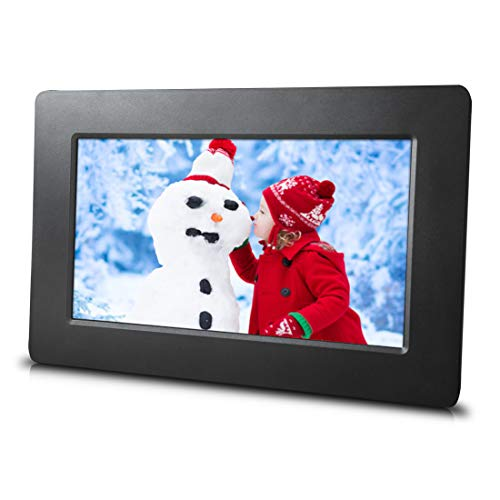 7 inch Digital Picture Frame – Simple to use – HD Screen – USB and SD Card Support – Best Frame for Slideshows