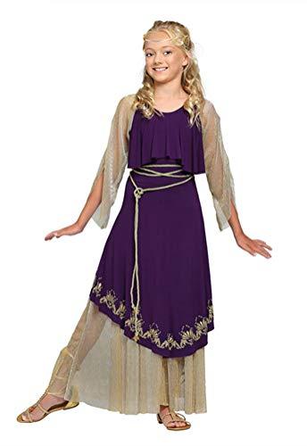 COSKING Girls Medieval Nobility Costume, Kids Halloween Reneissance