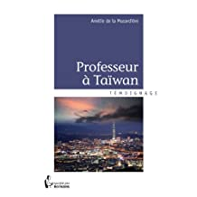 Professeur à Taïwan