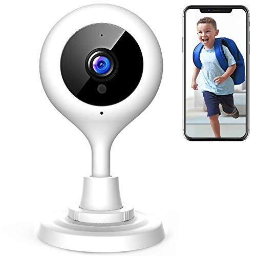 【New Version】 APEMAN WiFi Camera 1080P Home Security Camera Wireless IP Surveillance Cloud Service Motion Detection Alarm Remote Monitoring 2-Way Audio Night Vision for Pet Baby Elder