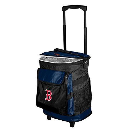 Logo Brands MLB Boston Red Sox Rolling Cooler