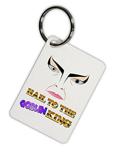 TooLoud Hail to the Goblin King Aluminum Keyring Tag (Goblin Outfit)