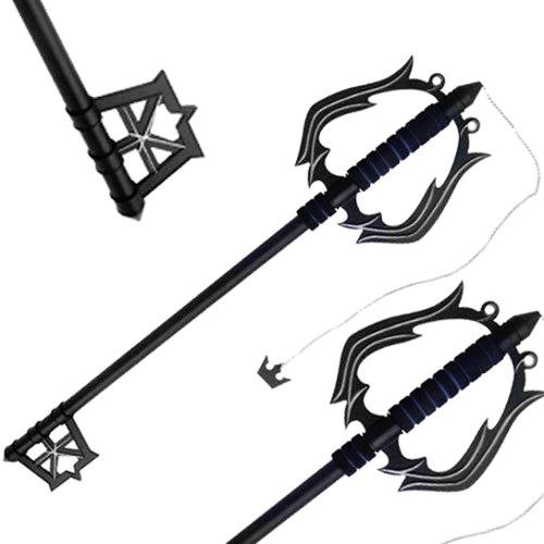 Fantasy Black Metal Oblivion Key blade Metal Replica Sword