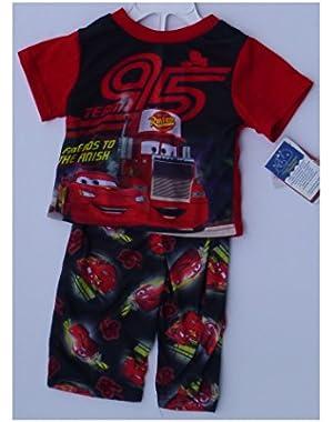 Baby Boys Disney Cars Lightning McQueen Pajamas Size 12 Months