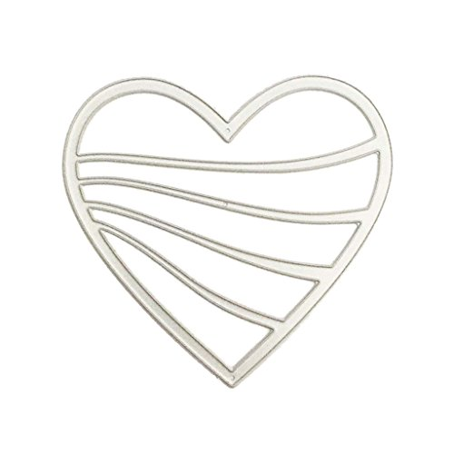 Herocome Love Heart Set Cutting Dies Cut Metal Stencils For DIY Scrapbooking Photo Album Decorative Embossing DIY Paper Card Craft