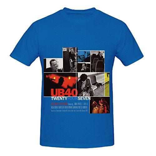 ub40-twentyfourseven-hits-men-o-neck-funny-t-shirts-blue