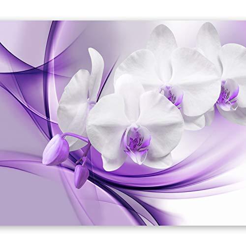 (artgeist Photo Wallpaper Purple Orchid 79
