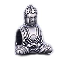 925 Sterling Silver Buddha Religions Bead Charms Fit for Pandora Chamilia Bracelet