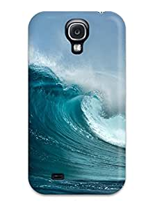 Best 7476173K60143619 New TashaEliseSawyer Super Strong Wave Tpu Case Cover For Galaxy S4