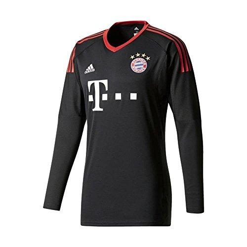 (adidas Bayern Munich Home Goalkeeper Long Sleeve Jersey [Black])