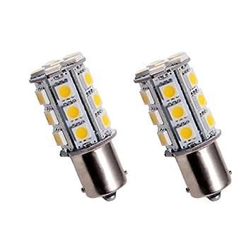 BAU15S24Y - PY21W SMD LED parpadeante bombilla, Intermitentes, señal de vuelta, flash,