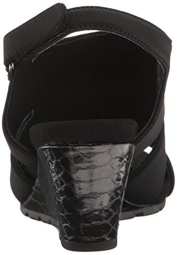 galedale Leger Sandalen Zeh Platform Bandolino Black Frauen Offener S5w1T1