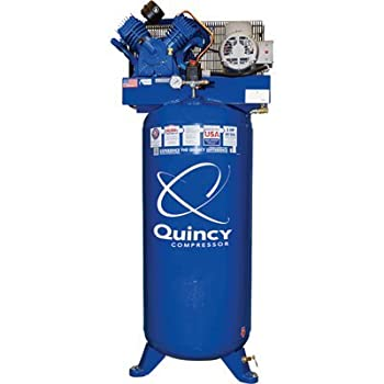 Quincy QT-54 Splash Lubricated Reciprocating Air Compressor - best 60 gallon air compressors