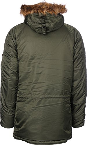 Alpha Manteau Alpha Green Manteau Dark Homme Dark Green Homme Tq14UI1