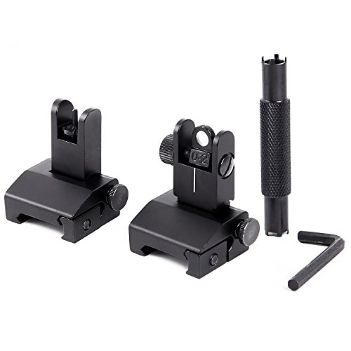 Ohuhu Sights Aluminum Alloy Picatinny