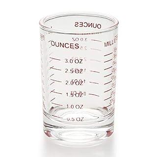 Shot Glass Measuring Cup 3 Ounce/90ML Liquid Heavy High Espresso Glass Cup