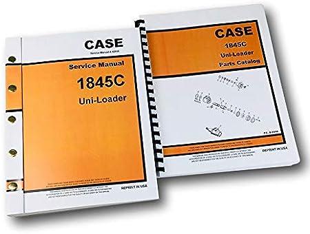 Amazon.com: Case 1845C Uni Loader Skid Steer Service Manual ...