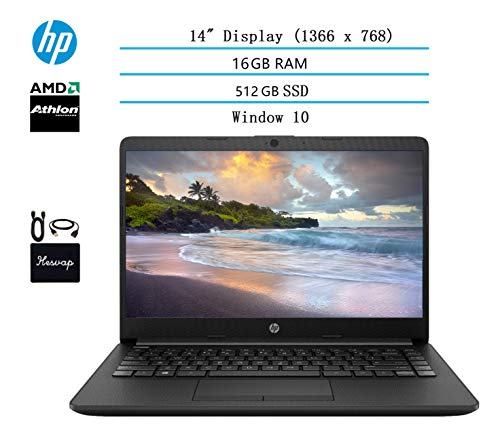 🥇 2020 HP 14 inch HD Laptop Newest for Business and Student