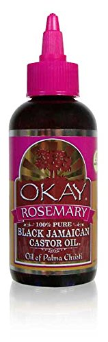 OKAY black jamaican castor oil with rosemary 4oz/188ml Xtreme Beauty International OKAY-BJRM4