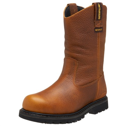 Caterpillar Revolver (Caterpillar Men's Edgework Pull-On Waterproof Boot,Mahogany,11.5 M)