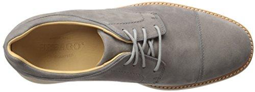 Smyth Men's Cap Nubuck Dark Toe Oxford Sebago Grey RSxwq6