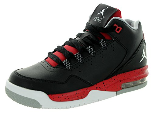 Nike Jordan Flight Origin 2 BG Zapatillas de deporte, Niños BLACK/WHITE-GYM RED-WOLF GREY