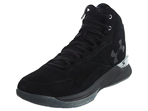 Under Armour , Herren Sneaker weiß black black black 001 9 UK / 44 EU / 10 US, weiß - black silver black 001 - Größe: 41