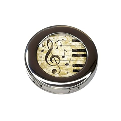 Vintage Piano with Treble Clef and Music Notes Purse Handbag Hook Hanger Holder - Clef Hanger