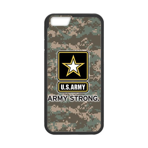 """Fayruz - iPhone 6 Rubber Cases, US Army Hard Phone Cover for iPhone 6 4.7"""" F-i5G94"""