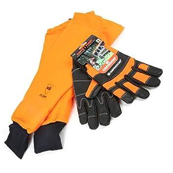 Manchettes protection tronçonneuse avec gants Kerwood. T 9. Class 1 - Pièce  neuve 82d635c7d56