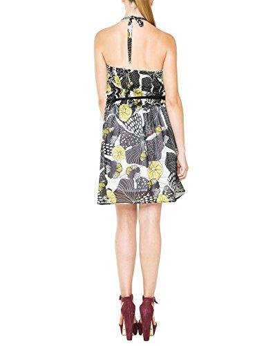 Desigual Vest Kleid ann Negro Schwarz Schwarz Damen x1axwqS