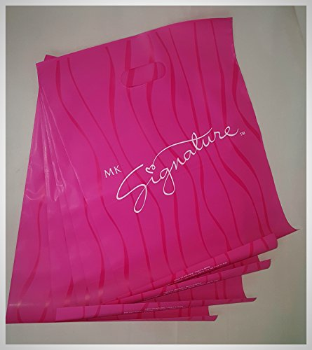 Mary Kay Pink Signature Gift Bags ~~ Set of 5 ~ Approx 12...