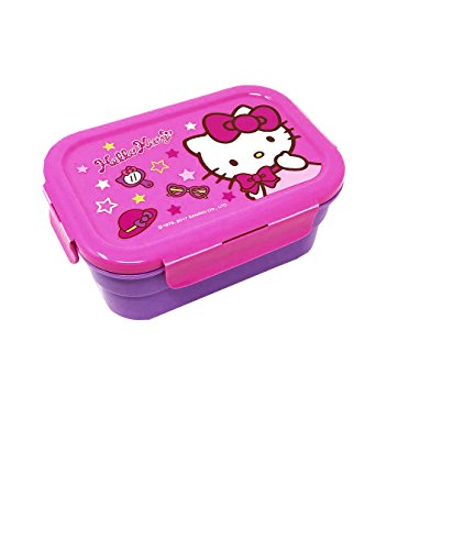 Hello Kitty Hawaiian Food Container Double Compartment Limited Edition (Party Pink) by Hello Kitty S
