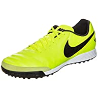 Nike Men's Soccer TiempoX Genio II Leather Turf Shoe