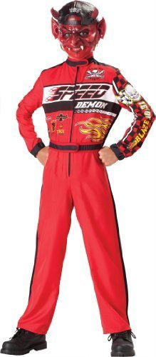 [Speed Demon Child Costume - X-Large] (Cars Land Costumes)