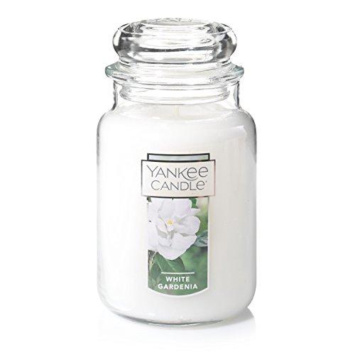 Yankee Candle Large Jar Candle, White Gardenia (Jar Oz 22 Candle Warmer)