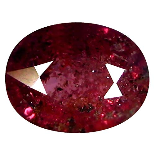 1.97 ct OVAL CUT (9 x 7 mm) 100% NATURAL GENUINE UNHEATED UNTREATED CEYLON PINK SAPPHIRE LOOSE GEMSTONE