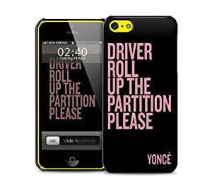 roll up the partition yonce iPhone 5c protective phone case by mcsharks