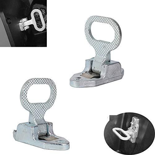 Sturdy ATV Footrest Rear Passenger Foot Peg Universal Suitable for Polaris Sportsman 400 450 500 550 700 800 850 Honda Rancher TRX300 350 TRX420 Fourtrax 300 Foreman Yamaha Grizzly Kodiak