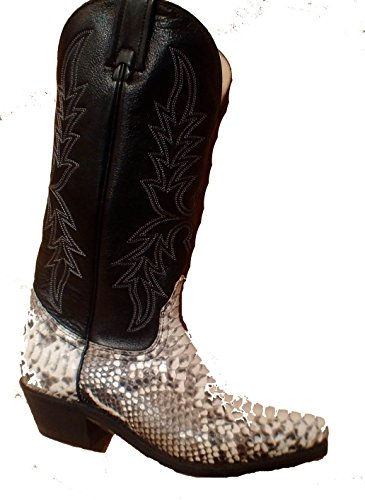 Genuine Skin Toe Boot Women's Brahma West Narrow Python Canada vnEpPp