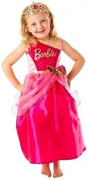 Christys Dress Up - Disfraz de princesa Barbie (3-5 años): Amazon ...