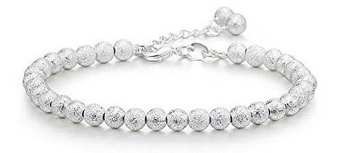 Yellow Chimes Sterling-Silver Chain Bracelet For Girls