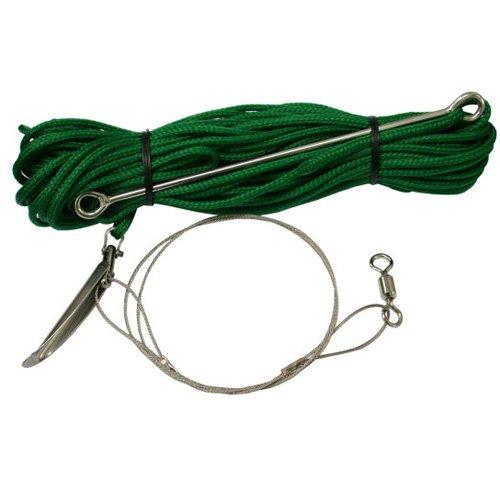 Scuba Choice - Eslinga de pesca con cuerda de 72 pies y aguja de velocidad