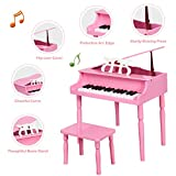 Costzon Classical Kids Piano, 30 Keys Wood Toy