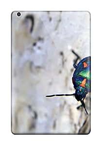 Tpu Case Cover For Ipad Mini/mini 2 Strong Protect Case - Bark Beetle Design