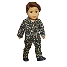 My Brittany's Army Outft for American Girl Boy Dolls- 18 Inch Boy Doll Clothes