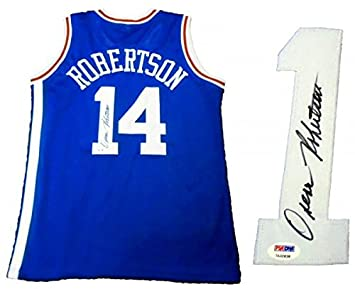 2dfe5a15f Image Unavailable. Image not available for. Color  Oscar Robertson Signed  ...