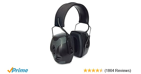 Howard Leight by Honeywell Impact Pro High Noise Reduction Rating Sound  Amplification Electronic Shooting Earmuff for Indoor and Covered Ranges or