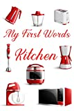 My First Words: at kitchen: For Kids 1-3 Year Old's (My First I Can Read)