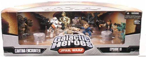 (Star Wars Galactic Heroes Cantina Encounter Cinema Scene)
